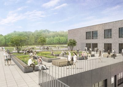 Neubau Oscar-Paret-Schule Freiberg